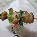 82672196 - 国産 鶏アスパラ串 塩