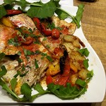 カサレッチョ - 本日の鮮魚(レンコダイ)のオーブン焼き♪