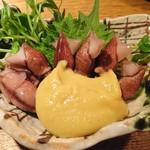 東岡崎魚酒場 どぉーん - ホタルイカの辛子味噌和え