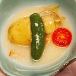 82673296 - 煮物:春野菜のポトフ 豆腐餡かけ