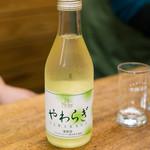 鳥房 - 2018.3 ワイン(670円)サントネージュワイン やわらぎ 白