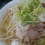 桜ラーメン 北方店 -    桜ラーメン塩 750円