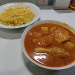 サイダーバ - 料理写真:大根ホットチキンカレー950円