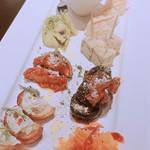 ムッジーナ - 前菜