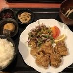 むちゃく - 鶏の唐揚定食=680円