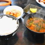きまっちゃん - ご飯のセット