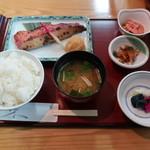 京粕漬 魚久  - 金目鯛酒粕・白味噌漬定食