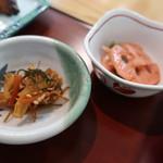 京粕漬 魚久  - 珍味、小鉢
