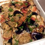 8268314 - ティエッラ ムール貝と野菜のプーリア風焼きリゾット