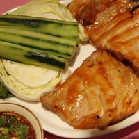 スコンター - タイ式焼き豚