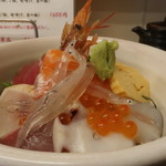 塩竈市場食堂 - 朝丼