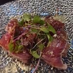 GARB LEAVES - 鮮魚のカルパッチョ