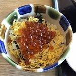 和食レストランとんでん - お子様いくら丼380円