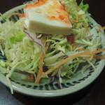 プーアン - セットのサラダ