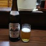 幸伸 - 瓶ビール(550円)