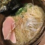 わら焼・串焼ダイニング 焼名人 - 鶏塩ラーメン