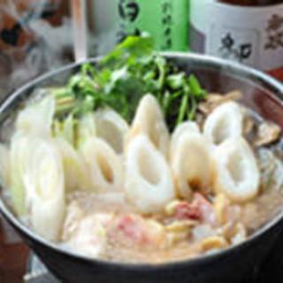 秋田の郷土料理と食材を大事にしています。