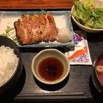福の花 - 若鶏の塩焼き 780円。