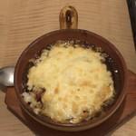 ROOM kochu - とろ~りチーズの焼きカレー¥900