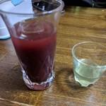 朝起 - スッポンの生き血と胆汁