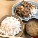 82693665 - 生姜焼き定食