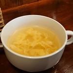 カフェ&ダイニング ゾッコロ - スープ。