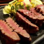 牛弁慶 - 特上生タン炭火焼定食 1,620円