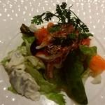 82697171 - 海の幸と野菜の盛合せサラダ
