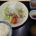 レストラン神谷 - 近江牛しゃぶサラダ定食1,080円