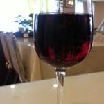 レストラン神谷 - グラスワインの赤430円
