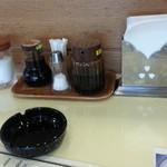 レストラン神谷 - 卓上