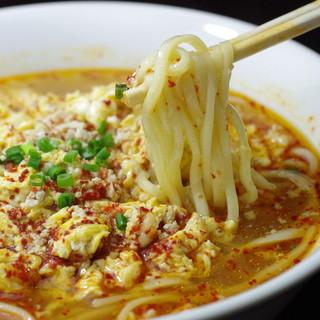 ◆焼肉のシメは創業以来の川崎タンタン麺で決まり!◆