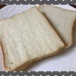 高級「生」食パン 乃が美 - カット断面