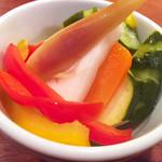色々お野菜のピクルス