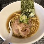 鬼そば - 料理写真:鬼そば(にぼし正油)750円