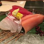 加賀屋 - 刺し盛り3種