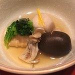 加賀屋 - 野菜の炊き合わせ