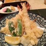 加賀屋 - 海老の天ぷら