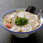 久留米 大砲ラーメン - 昔チャーシューメン(並)