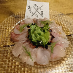 82706187 - 日替り鮮魚のカルパッチョ