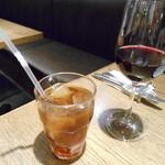 SALVATORE CUOMO&BAR - ウーロン茶&赤ワイン♡