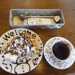 ワッフルカフェ サイン フォレスト - ワッフルプレート ハーフサイズ