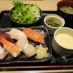 竹乃屋 - 寿司定食