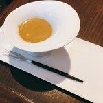 Sincere + - 前菜ブュッフェのバーニャカウダソースはなんと蟹味噌!