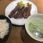 牛たん若 - 料理写真:牛たん定食