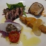 オステリア ディ レンドラ - Bランチの前菜
