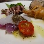 オステリア ディ レンドラ - 前菜をUPで!