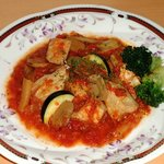 屋久島オリオン - 料理写真:鶏のトマト煮込み