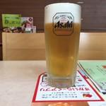 ガスト - クーポン使用生ビール