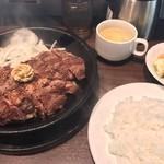 いきなりステーキ - ランチセット